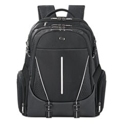 "Active Backpack, 17.3"", 12 1/2"" x 6 1/2"" x 19"", Black"
