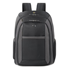 "Pro CheckFast Backpack, 16"", 13 3/4"" x 6 1/2"" x 17 3/4"", Black"