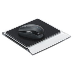 Stratus Acrylic Mouse Pad, Black/Clear