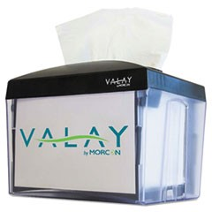 Valay Nap Interfolded Napkin Dispenser, 6.14 x 8 x 6 1/2, Black