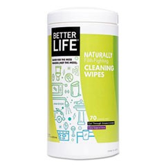 Naturally Filth-Fighting All Purpose Wipes, Clary Sage & Citrus, 70/Canister
