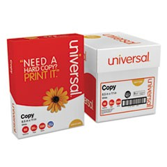 Copy Paper Convenience Carton, 92 Bright, 20lb, 8.5 x 11, White, 500 Sheets/Ream, 5 Reams/Carton
