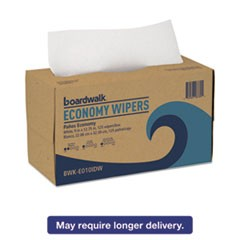 TAD Wipers, 1-Ply, White, 9 x 12 3/4, 2250/Carton