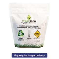 Eco-Friendly Sorbent, 1 lb Resealable Pouch