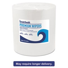 Hydrospun Wipers, White, 12 x 13, 870/Roll