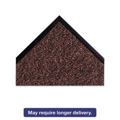"Dust-Star Microfiber Wiper Mat, 48"" x 72"", Red"