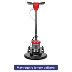 "Commercial High-Speed Floor Burnisher, 1 1/2 HP Motor, 20"" Pad, 1500 RPM"