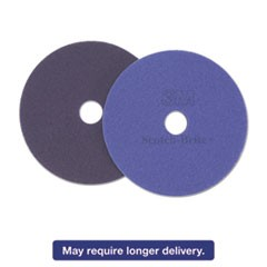 "Diamond Floor Pads. 17"", Purple, 5/Carton"