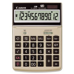 CALCULATOR,TS-1200TG,TAN