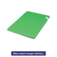 Cut-N-Carry Color Cutting Boards, Plastic, 20w x 15d x 1/2h, Green