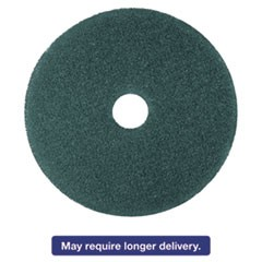 "Cleaner Floor Pad 5300, 17"", Blue, 5/Carton"