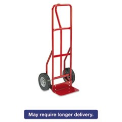 Two-Wheel Steel Hand Truck, 500lb Capacity, 18w x 47h, Red