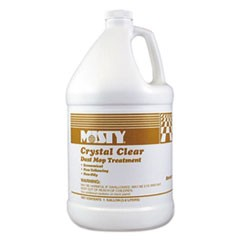 Crystal Clear Dust Mop Treatment, Slightly Fruity Scent, 1 gal Bottle