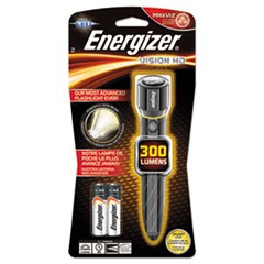 Metal LED Flashlight, 2 AA, Chrome