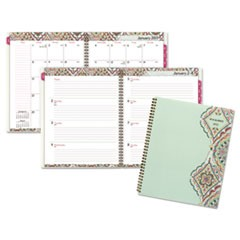 Marrakesh Professional Weekly/Monthly Planner, 9 1/4 x 11 3/8, 2017