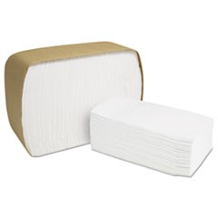 North River ServRite Dispenser Napkins,1-Ply,6 1/2x3 3/4,White,300/Pk,6000/Crtn
