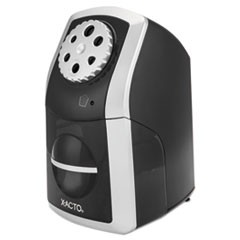 SharpX Performance Electric Pencil Sharpener, Black/Silver