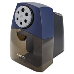 TeacherPro Classroom Electric Pencil Sharpener, Blue