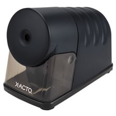 Powerhouse Desktop Electric Pencil Sharpener, Black