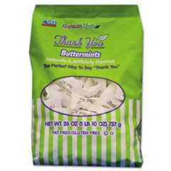 Hospitality Mintsthank You Buttermints Candies, 26 Oz Bag