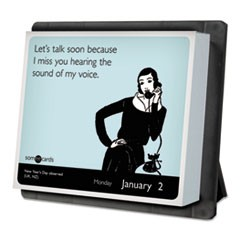 Year In A Box SomeECards Desk Calendar, 6 1/8 x 5 1/4, 2018