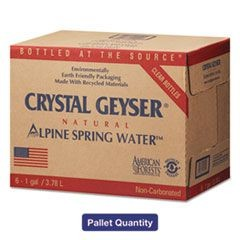 Alpine Spring Water, Deposit, 1 Gal Bottle, 6/Case, 48 Cases/Pallet