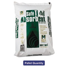 All-Purpose Clay Absorbent, 40lb, Poly-Bag, 50/Carton
