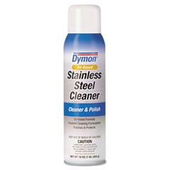 Stainless Steel Cleaner, 16oz, Aerosol, 12/Carton
