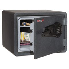 One Hour Fire and Water Safe with Electronic Lock, 2.8 cu. ft., Graphite