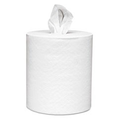 Center-Pull Paper Roll Towels, Absorbency Pockets, 1Ply, 8x15, 500/Roll, 4 Rl/Ct