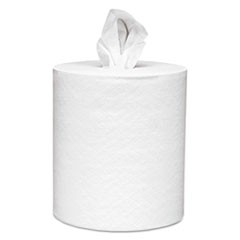 Scott Essential Roll Control Center-Pull Towels, 8 X 12, White, 700/Roll, 6 Rolls/Ct