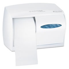 Essential Coreless SRB Tissue Dispenser, 11 1/10 x 6 x 7 5/8, White