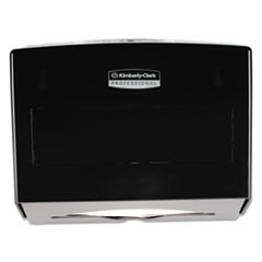 Scottfold Towel Dispenser, Plastic, 10 3/4w x 4 3/4d x 9h, Smoke