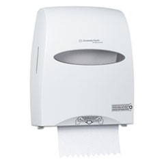 Sanitouch Hard Roll Towel Dispenser, 12 63/100w x 10 1/5d x 16 13/100h, White