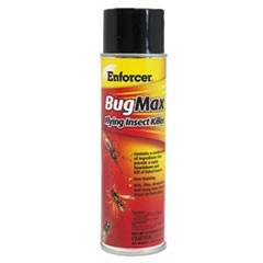 Enforcer Bugmax Flying Insect Killer, 16 Oz Aerosol Can, 12/Carton