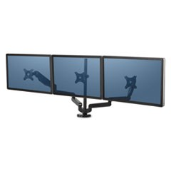 Platinum Series Triple Monitor Arm, 53 x 6 x 35, Black
