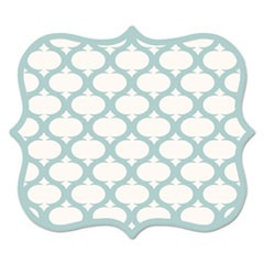 Designer Mouse Pads, Lattice, 9 x 8 x 3/16