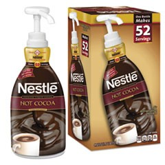 Hot Chocolate Syrup, 1.47 L Pump Bottle