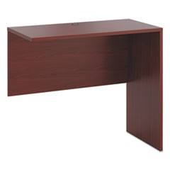 10500 Series Standing Height Return Shell, 48w x 24d x 42h, Mahogany
