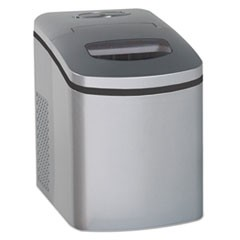 "Portable/Countertop Ice Maker, Silver, 9 3/4""W x 14""D x 13""H"