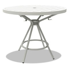 "CoGo Tables, Steel, Round, 36"" Diameter x 29 1/2"" High, White"