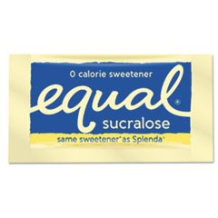 Zero Calorie Sweetener, 0.035 oz Packet, 100/Box, 12 Box/Carton