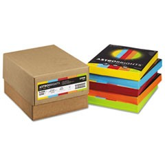 Color Paper - Five-Color Mixed Carton, 24lb, 8.5 x 11, Assorted, 250 Sheets/Ream, 5 Reams/Carton