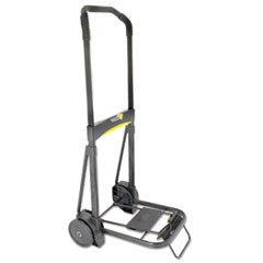 Ultra-Lite Folding Cart, 250lb Capacity, 11 x 13 1/4 Platform, Black