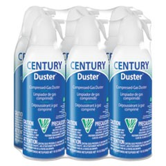 Disposable Compressed Gas Duster, 10 oz, 6/Pk