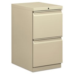 Mobile File/File Pedestal, 15w x 20d x 28h, Putty