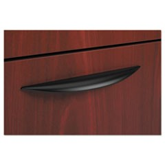 BL Series Field Installed Classic Pull, Elipse, 6.75w x 0.88d x 0.5h, Black, 2/Carton