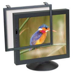 "Antiglare Executive Flat Frame Monitor Filter, 17""-18"" CRT/LCD"