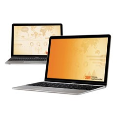 "Frameless Gold Notebook Privacy Filter for 13.3"" Widescreen, 16:10 Aspect Ratio"