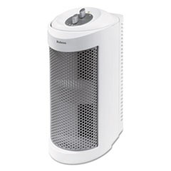 Holmes Allergen Remover Air Purifier Mini-Tower, 204 Sq Ft Room Capacity, White